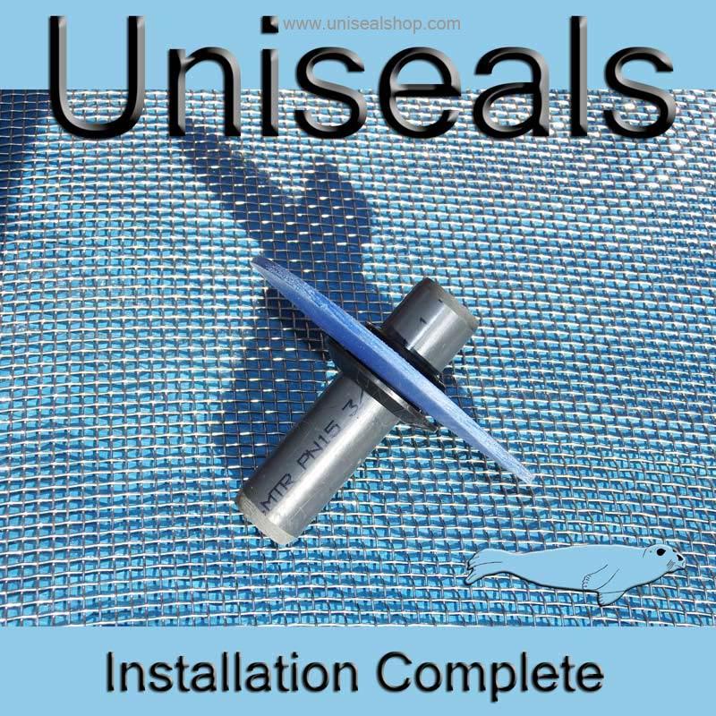 Uniseal installation complete