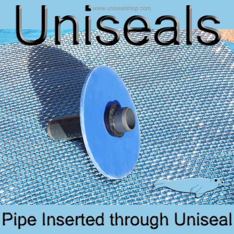 Pipe inserted in situ