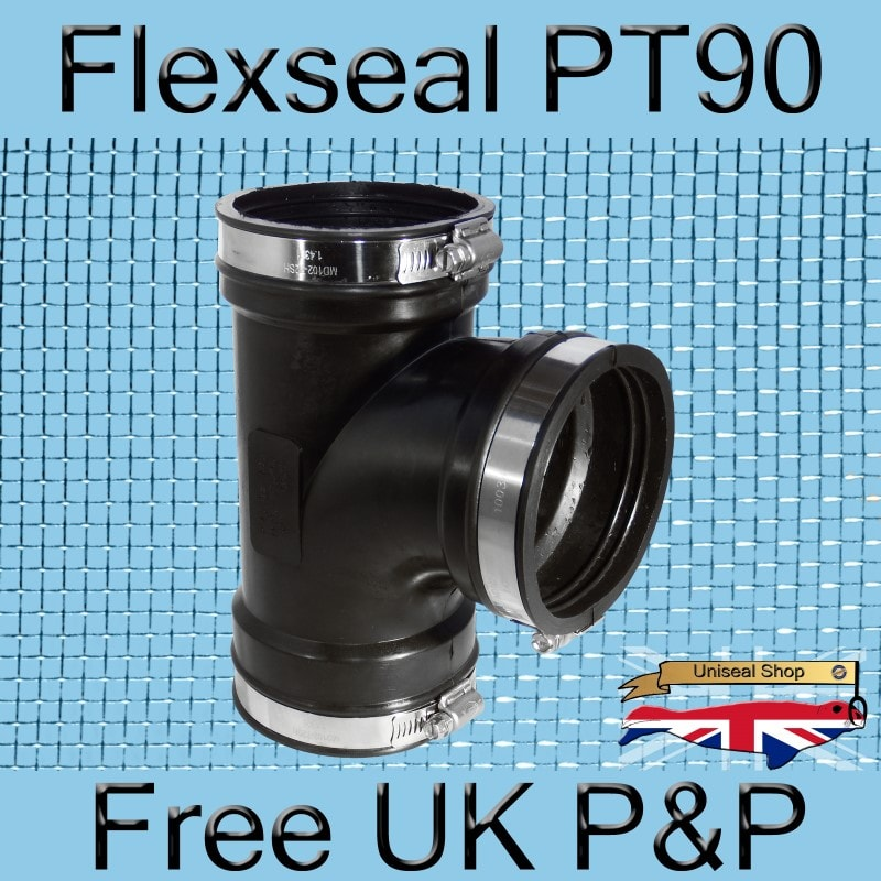 Flex-seal DC115 Plastic to Plastic Flexible Coupling
