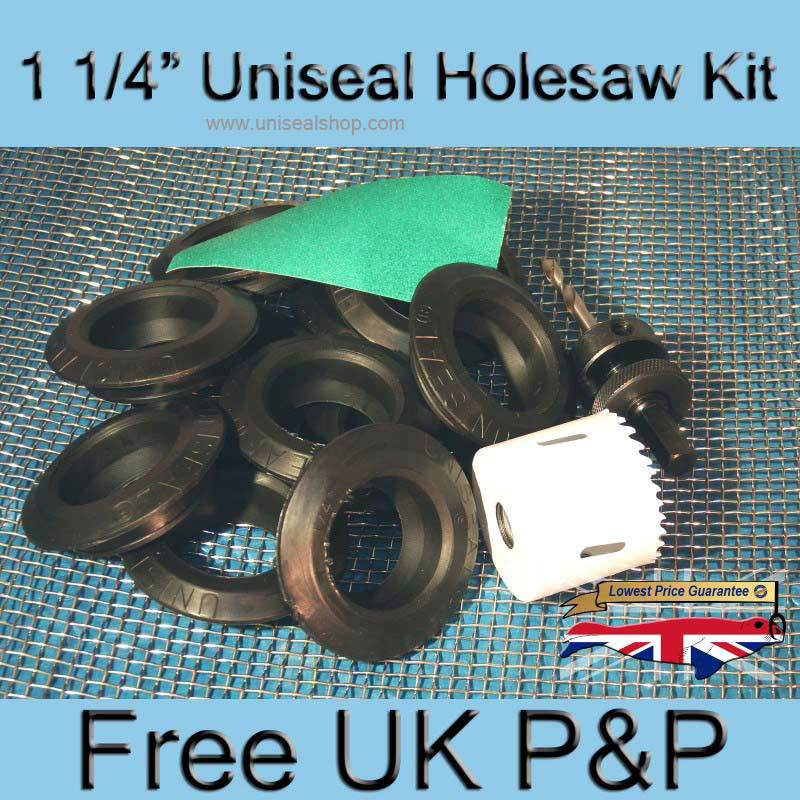 10xUniseal-Holesaw-Kit-One-And-One-quarter.jpg Photo