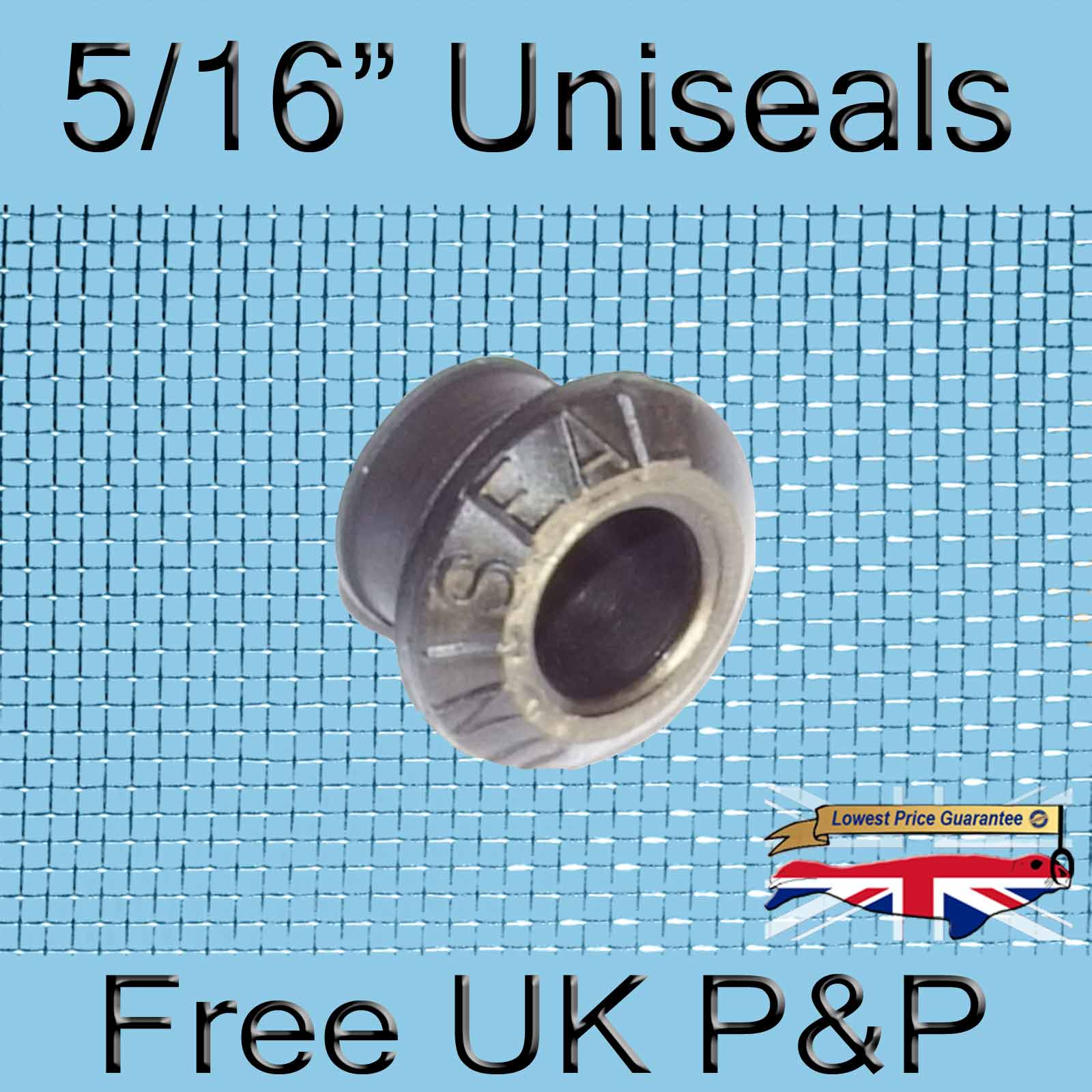 Magnify 5/16 inch Uniseal photo 1xfive-sixteenths-Uniseal-Tank-Connector.jpg